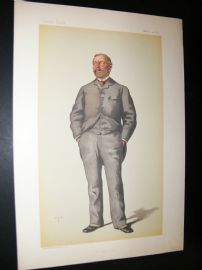 Vanity Fair Print 1883 William Thackery Marriott